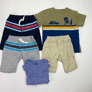 Tea Boys Cotton Shorts and Shirts Lot